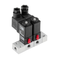 DIRECT-OPERATED SOLENOID VALVE / 3/2-WAY / NC / NO METAL WORK