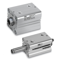 Compact Hydraul ic Cylinders, Metric - Aluminu m Body Construc tion - Series C HE