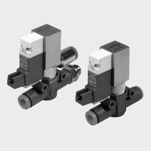 3/2-WAY SOLENOID VALVE / AIR / SMALL / IN-LINE METAL WORK