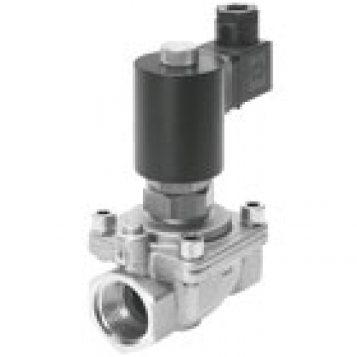Electrically actuated process and media valves FESTO