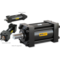 HEAVY DUTY INDUSTRIAL HYDRAULIC CYLINDERS - SERIES 2H