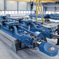 xi lanh thủy lực REXROTH loại Large Hydraulic Cylinders
