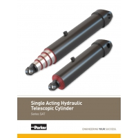 Single Acting Telescopic Hydraulic Cylinders – SAT Series