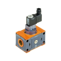 DIRECT-OPERATED SOLENOID VALVE / AIR / PUSH-IN / CONTROL METAL WORK